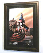 Marvel Captain America And The Falcon 5 - Ltd Ed Stan Lee Signed Numbered Framed