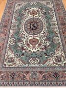 6and0392 X 9and0393 New Chinese Floral Design Oriental Rug - Wool And Silk - Hand Made