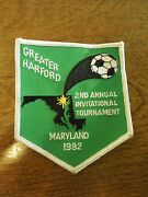 Vintage Greater Harford 2nd Annual Invitational Tournament Maryland 1992 Patch