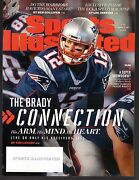 3 2017 Sports Illustrated New England Patriots Subscription Issues Excellent