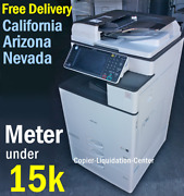 Ricoh Mpc 3503 Mp C3503 Color Network Copier Print Fax Scan To Email. 35 Ppm