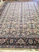9and039 X 12and039 New Indian Morsh Agra Design Oriental Rug - Fine - 100 Wool Pile