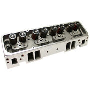 Power Products Cylinder Heads Sbc Aluminum 205/64cc Angle Plug Assembled Pair Ft