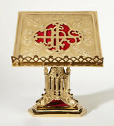 Petrus Collection Brass Missal Stand