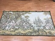 4and0392 X 8and0392 French Hanging Tapestry - 1970s - Perfect Condition - Hand Made