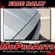 2015-2017 Fade Rally Ford Mustang Hood Fading Racing Stripes Vinyl Graphic Decal