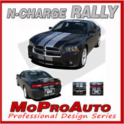 2013 For Dodge Charger Rally Racing Stripes Rt Pro Grade Decals Graphics Vinyl