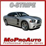 11 2012 2013 2014 For Dodge Charger C Stripe Side Scallop 3m Pro Decal Graphic