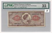 Series 641 Mpc 10 Replacement Note First Printing S887-1r Pmg Choice Vf 35