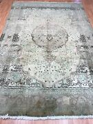 6and0395 X 9and0399 Antique Turkish Oriental Rug - 1940s - Hand Made - 100 Wool