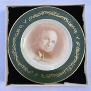 Pickard China Harry S Truman Plate Limited Ed. Of 3000 Made In Usa Jw40
