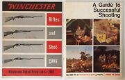 Vintage 1961 Winchester Western Sporting Arms And Ammo Retail And Wholesale Catalogs