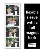 250 Magnetic Photo Booth Frames Made In Usa Full Magnet White/black Free Ship