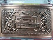2017 3rd China Paper Money Exhibition Antique Finish Copper Medal Rare