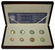 Greece Proof Set 2015 1 Cent - 2 Euro 2015 8 Coins