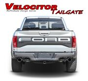 Ford Raptor Text Decals Velocitor Tailgate Letters Vinyl Graphics 2018 2019 2020