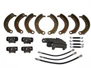 Deluxe Brake Kit With Shoes Master Wheel Cylinders 1942 Plymouth P14 New