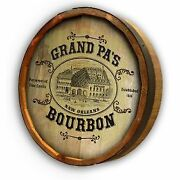 Vintage Style Wood Sign Personalized Victorian Distillery 19