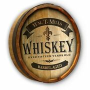 Vintage Style Wood Sign Personalized Whiskey Label 19