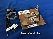 Upgrade Wiring Kit Fits Gibson Les Paul 3 Pick Up Long Shaft Pots With Switch