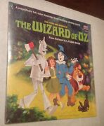 The Wizard Of Oz 33 1/2 Lp Record Album/book 1969 Sealed 3957