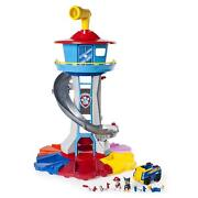 Lookout Tower Tall Big Paw Patrol Toy Chase Boulder Sky Childrens Action Figure