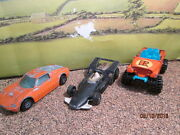 Lot Of Old Corgi Juniors Race/sports Cars Played With For Restoration