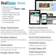 Real Estate Website Property Agent Membership Wordpress Rent House Classified Ad