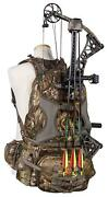 Bow Hunting Day Pack Backpack Fanny Pack Camo Deer Turkey Call Pocket Holster Pk