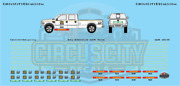 Iais Iowa Interstate Railroad Mow Truck Door Decals N Scale Rps Boley Walthers