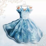 Disney Store Cinderella Dress Live Action Limited Edition Costume Girl Sz 5 New
