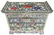 Jewelry Box Jewel Case Organizer 4 Drawers With Mirror Peony And Butterfly 704