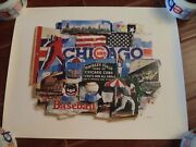 Chicago Cubs Wrigley Field Poster Print