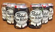 Pabst Blue Ribbon Pbr Real Tree Camo Beer Can Bottle Koozie Cooler Six6 New Fs