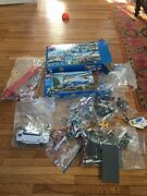 Lego City Police 4439 Heavy Duty Helicopter - New Plus Lego 3182 And Extra Legos