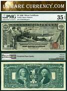 1896 1 Silver Certificate Educational Note Fr-225 Pmg Graded Epq