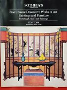 Sothebyand039s Ny Fine Chinese Decorative Woa Paintings And Furniture April 171985