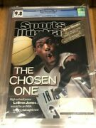February 18 2002 Lebron James First Rc Sports Illustrated No Label Wb Cgc 9.8