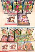 Childrens 19 Dvd's Wholesale Lot Dora Barney Mickey Mouse Leap Frog Einsteins