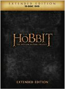 The Hobbit The Motion Picture Trilogy Extended Edition [new Dvd] Extended E