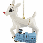 Lenox 2018 Rudolph And Misfit Toy Train Ornament Friend Reindeer Christmas New