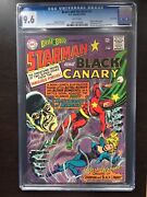 Brave And Bold 61 Cgc Nm+ 9.6 White Pg Starman/black Canary Twin Cities
