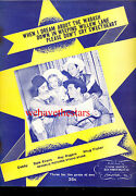 Roy Rogers Dale Evans Sheet Music Down In Weeping Willow Lane Plus 2 Others