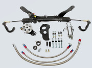 Unisteer 1962-1967 Chevy Ii Nova Bolt-on Power Rack And Pinion In Stock 8010650-01