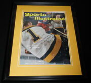 Don Head Signed Framed 1962 Sports Illustrated Magazine Cover Bruins