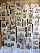 Lot 135 Dickens Heritage Village Dept 56 Christmas Building Figurine And More  Rl
