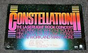 Constellation Ii 1990s Who Police Pink Floyd Rolling Stones Laserlight Poster Vg