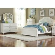 Liberty Furniture Stardust 3 Piece Twin Panel Bedroom Set In White