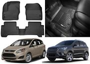 Husky Liners 99741 Weatherbeater Floor Mats For 13-19 C-max Escape New Free Ship