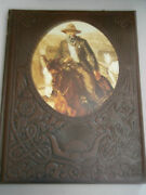 Time Life Books The Old West W/ Simulated Tooled Leather Cover - The Gunfighters